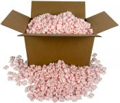 StarBoxes Packing Peanuts Pink Anti Static