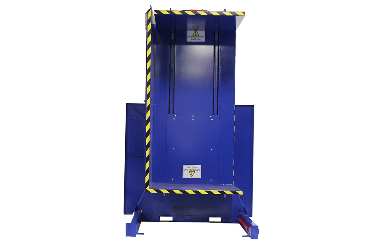"SINGLE CLAMP ""FS 2500"" PALLET INVERTER 2"