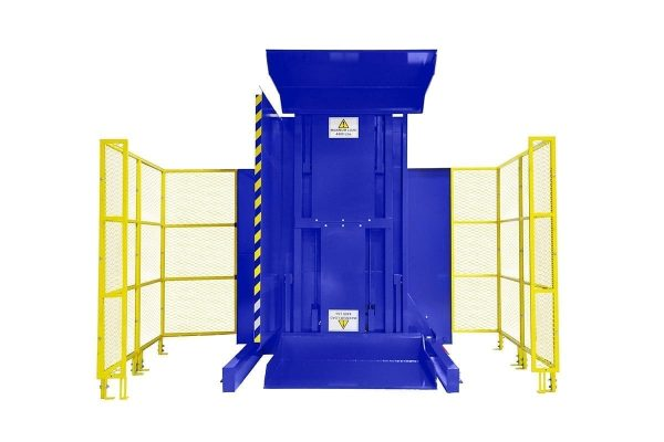 3. Dual Clamp FSDC BUCKET Ground Loaded Push Button Control with High Style Guarding Pallet Inverter
