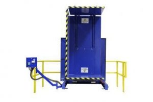 4. Single Clamp FS 2500 Lever Control with Standard Guarding Pallet Inverter