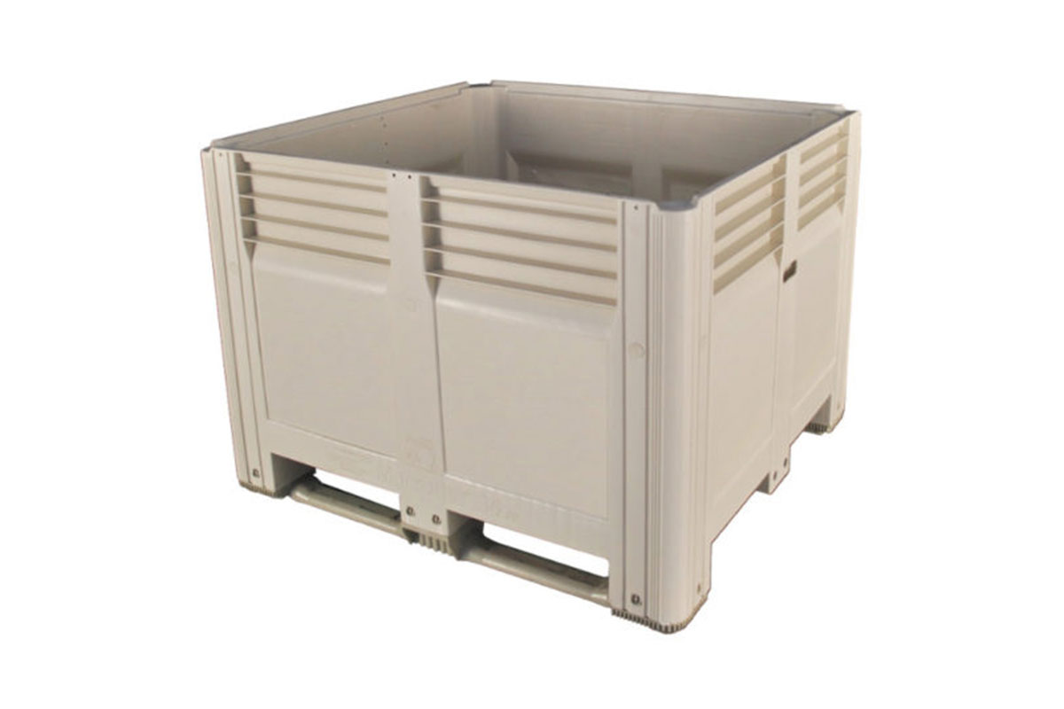 45 X 48 X 34 SOLID WALL PLASTIC CONTAINER 1