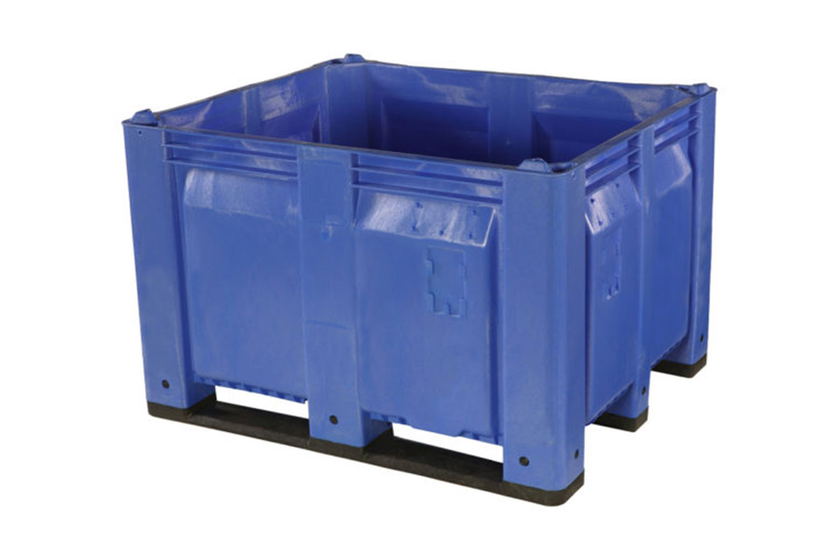 48 X 40 X 31 SOLID WALL PLASTIC CONTAINER 1