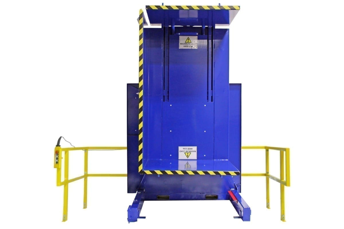 5. Single Clamp Fs 2200 Push Button Control With Standard Guarding Pallet Inverter