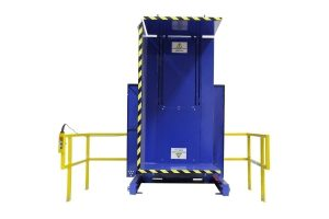 5. Single Clamp FS 2500 Push Button Control with Standard Guarding Pallet Inverter