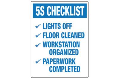 5S-Checklist-Wall-Label