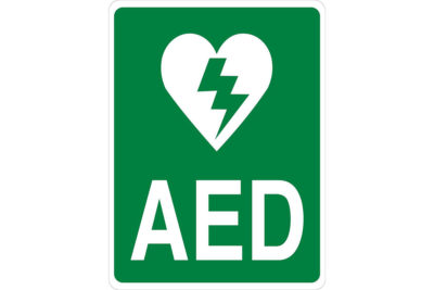 AED-Wall-Sign-Green-Vertical-format