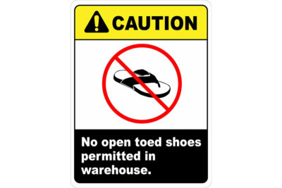 ANSI-Caution-No-Open-Toed-Shoes