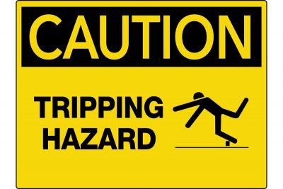 Caution-Tripping-Hazard-Wall-Sign
