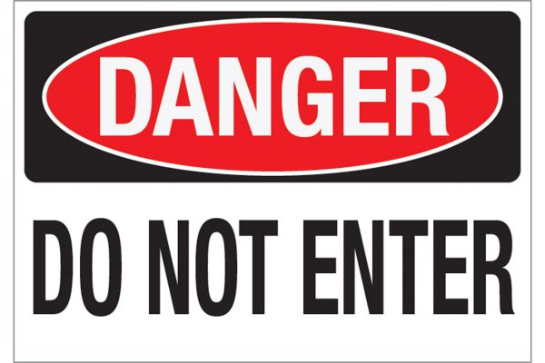Danger-Do-Not-Enter-Wall