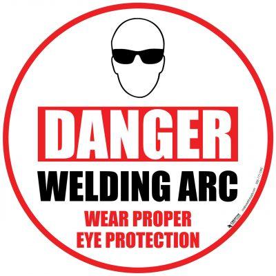 Danger Welding Arc Sign