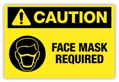 Face Mask Required Label Version 2