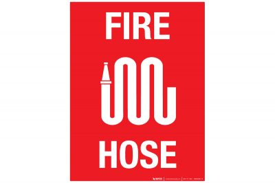 Fire-Hose-Wall-Sign