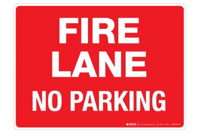 Fire-Lane-No-Parking-Wall-Sign