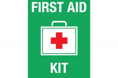 First-Aid-Kit-with-red-cross-Wall-Sign