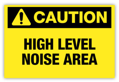 High Level Noise Area Label