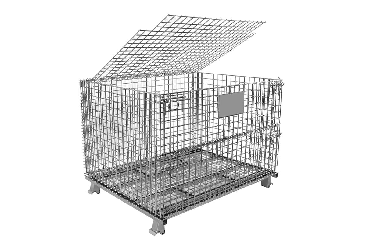 L Lid Wire Basket