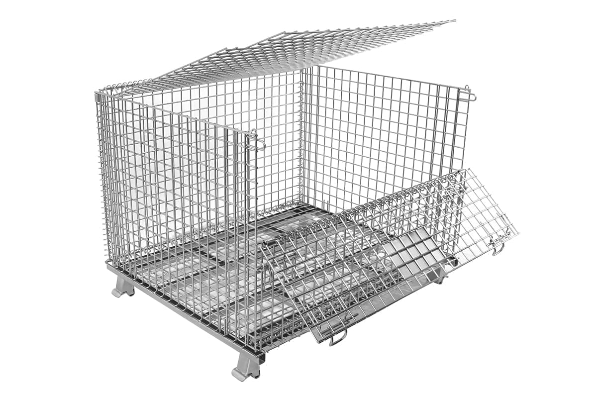 Large Lid and Dropgate 1 Baskets