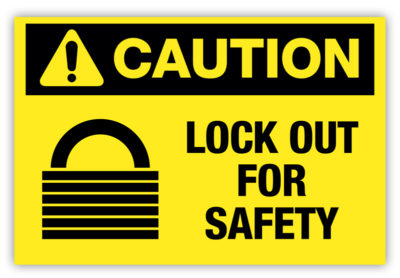 Lock Out Label