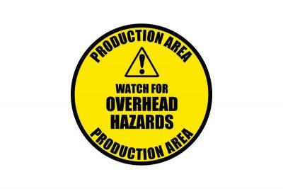 Overhead-Hazard-Signs