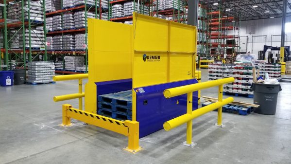 Double Deep Pallet Dispenser