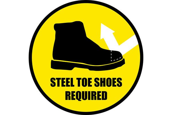 Steel-Toe-Shoes-Required-Sign