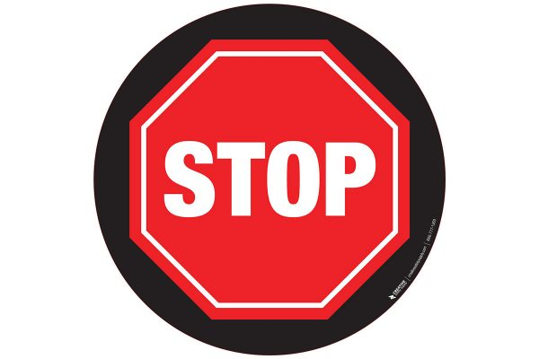 Stop-Sign-with-Black-Background