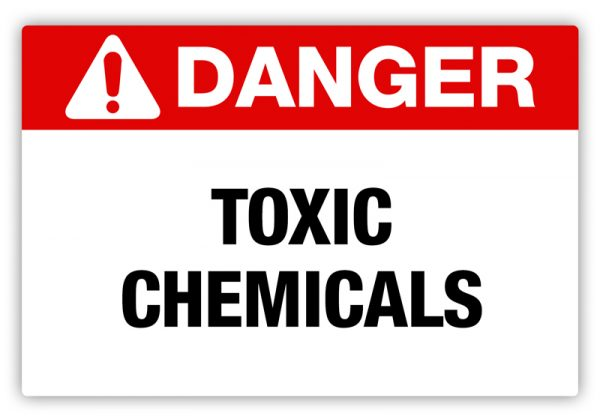 Toxic Chemicals Label