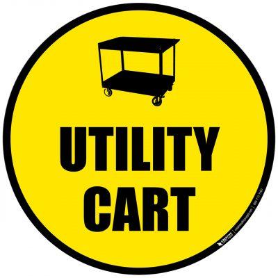Utility Cart Sign