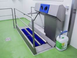 DZW-HDT HYGIENE STATION<br>(SOLE CLEANING & HAND DISINFECTION) 3