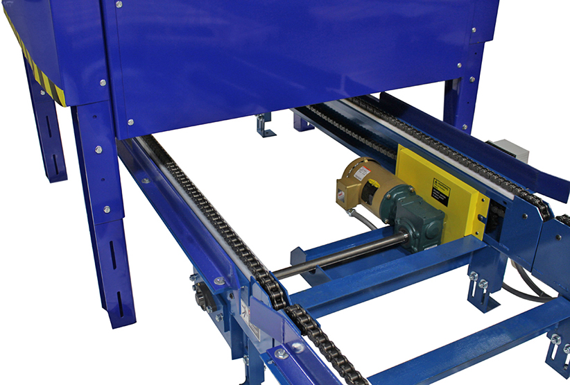 INLINE PALLET DISPENSER STRINGER PALLET 4