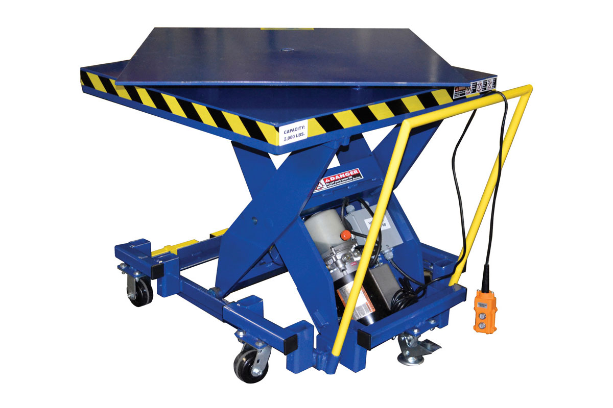 PORTABLE ELECTRIC LIFT TABLE 1