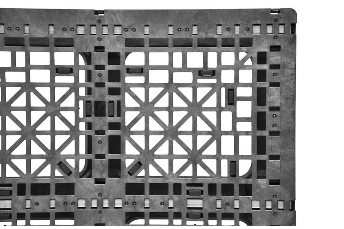 RCK 291   3 ROD PLASTIC PALLET 5