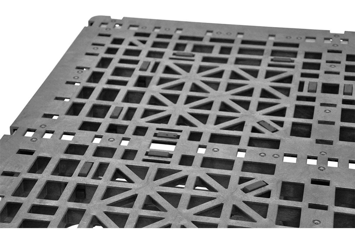 RCK 292   5 ROD PLASTIC PALLET 5