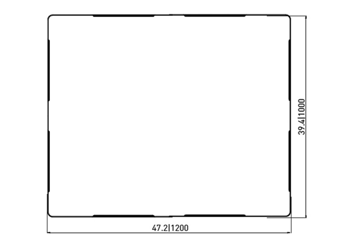 RCK 745 PLASTIC PALLET 5