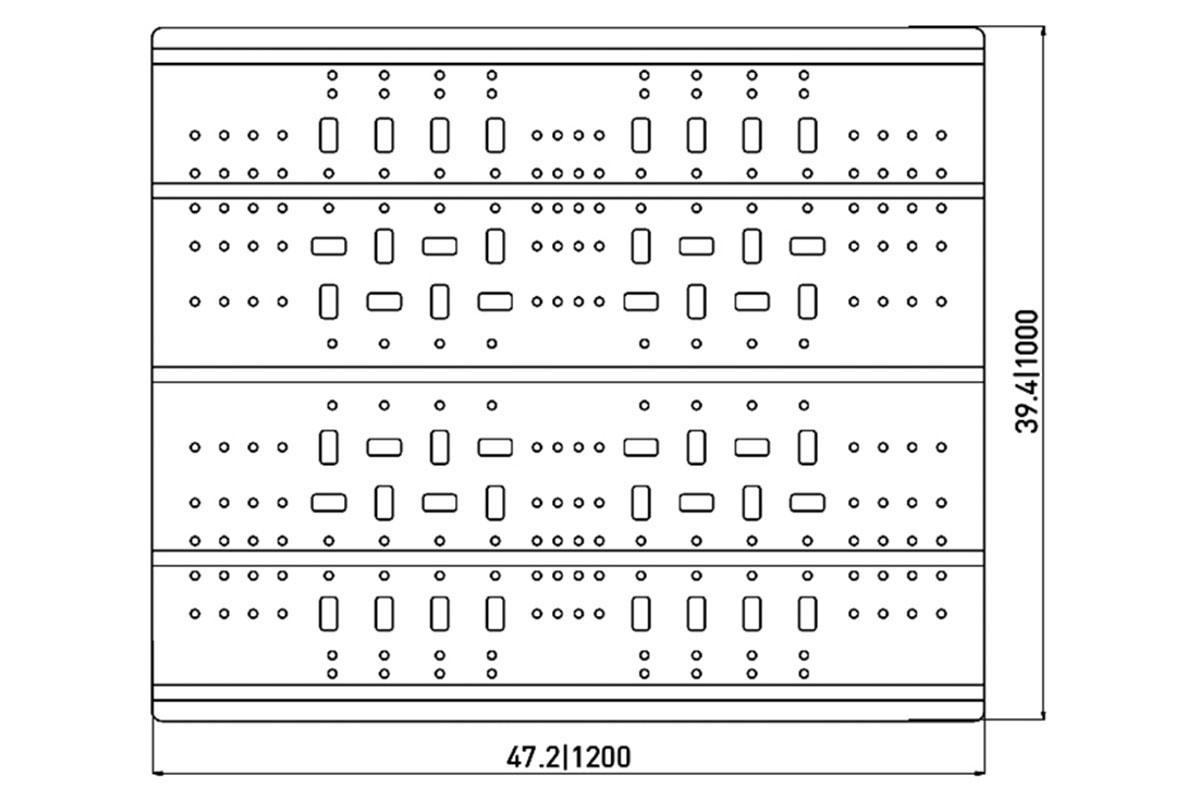 RCK 752 PLASTIC PALLET 5