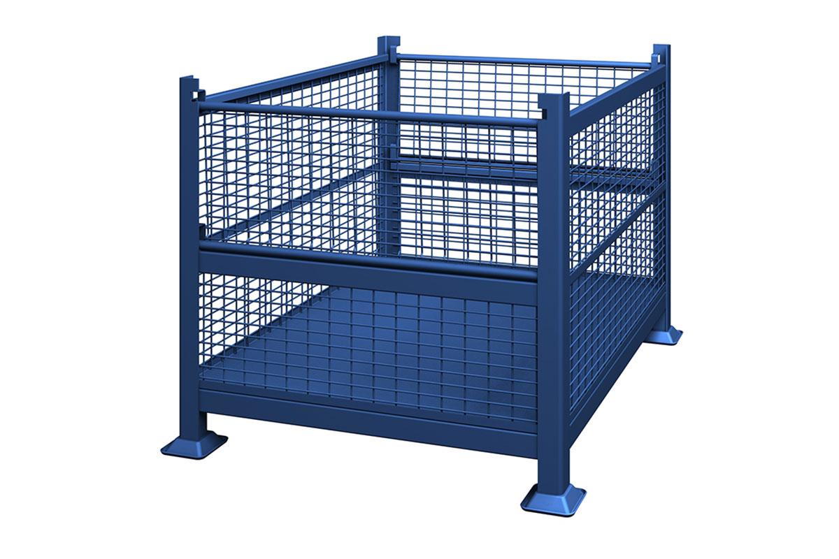 Rigid Wire Container