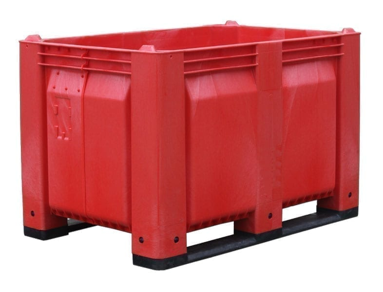 Short Solid Wall Custom Plastic Container 1