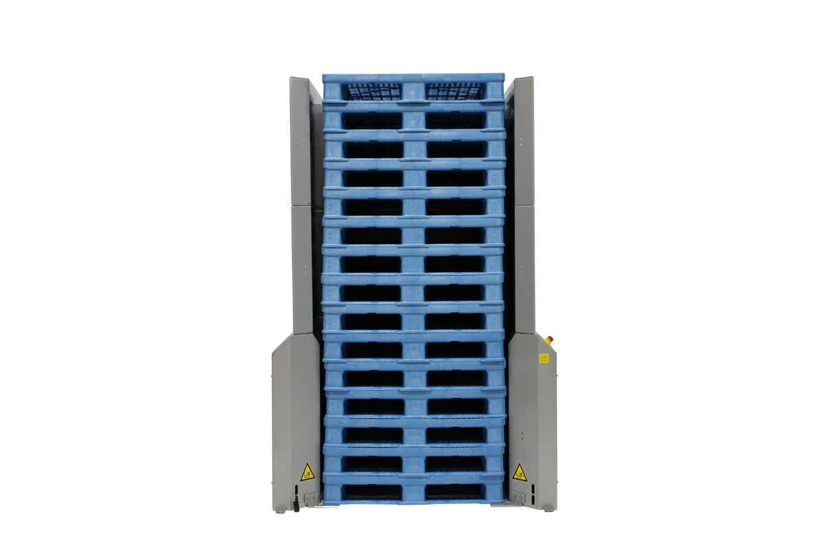 Stainless Pallet Dispenser 3