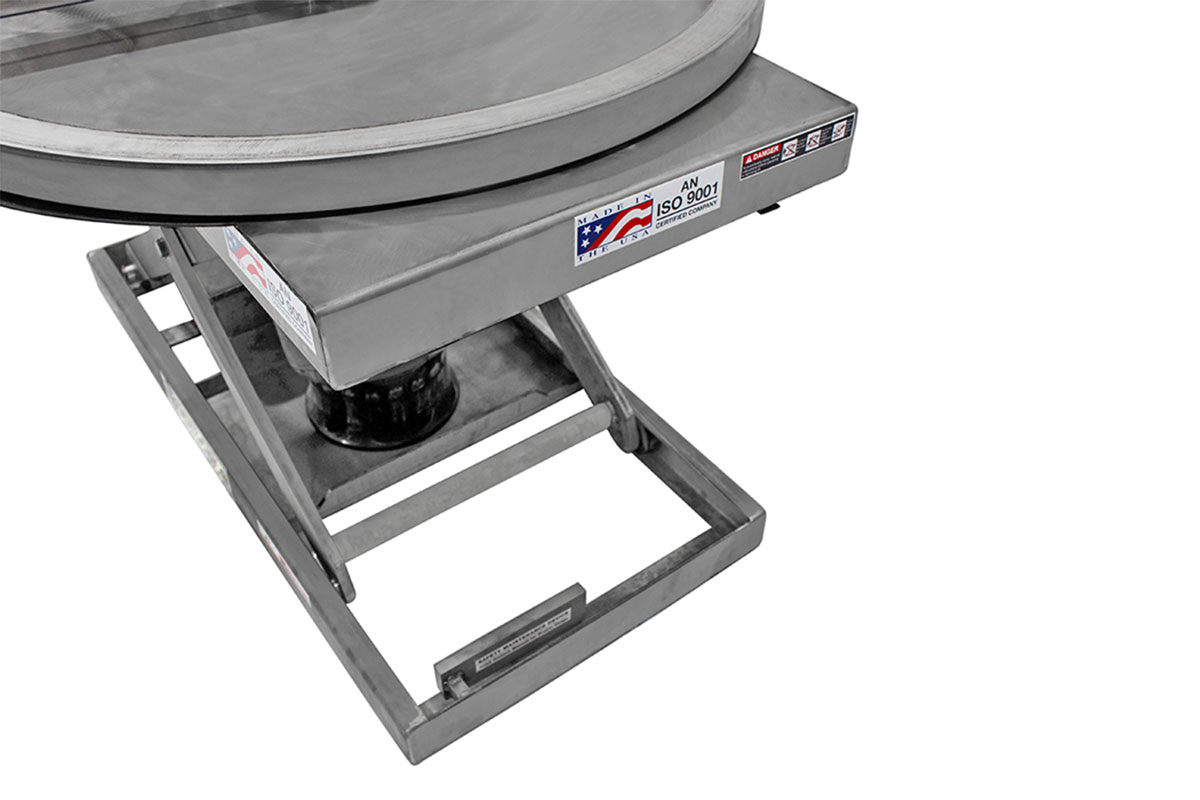 STAINLESS STEEL PALLET POSITIONER 3