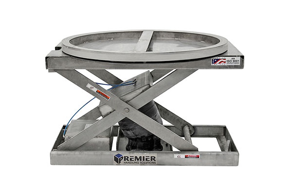 STAINLESS STEEL PALLET POSITIONER 1