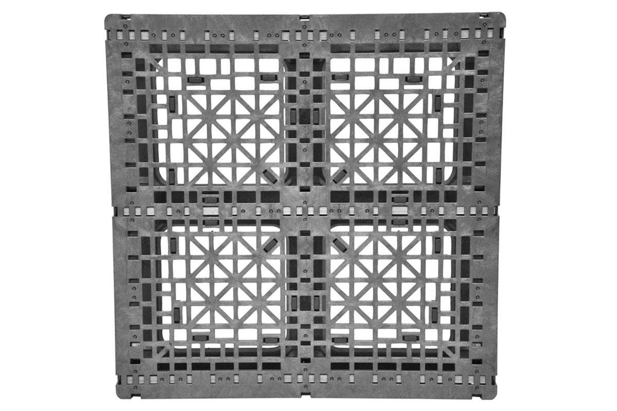 Stk 295 | 1-Rod Plastic Pallet 3