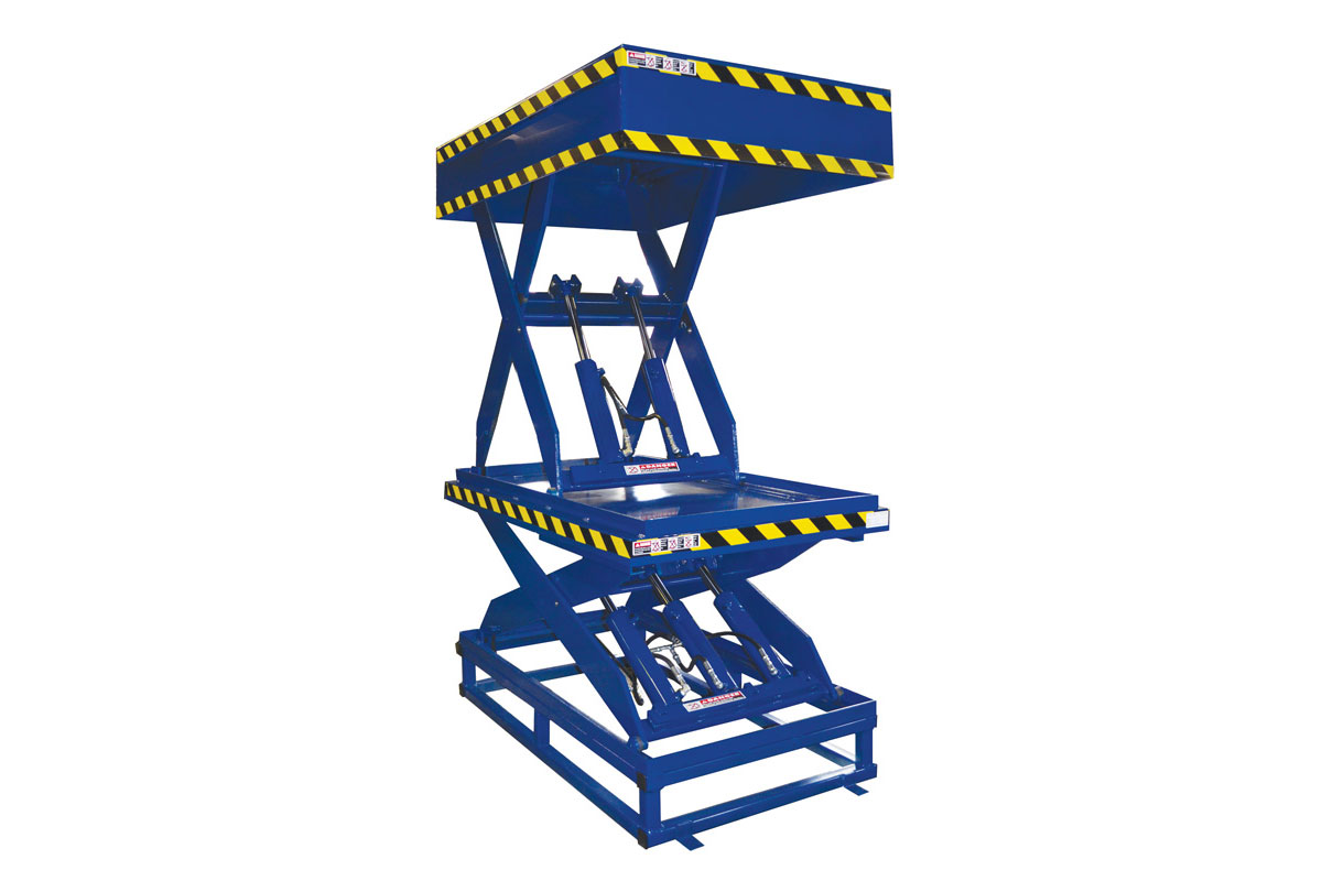 WIDE BASE TANDEM LIFT TABLE 1