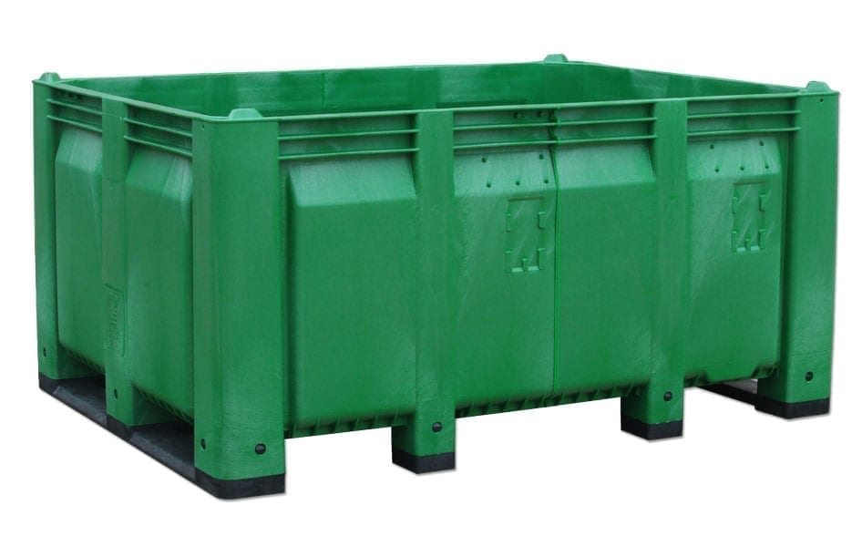 Wide Solid Wall Custom Plastic Container 1