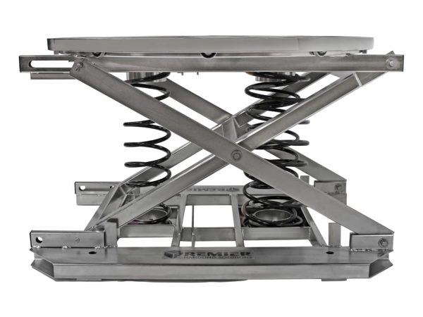 2. Stainless Spring Pallet Positioner