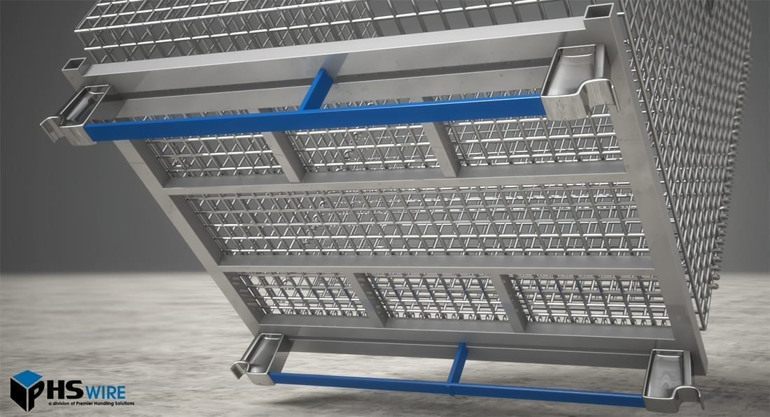 Runner Bars For Wire Baskets