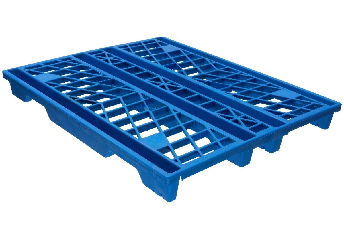 Blue EXP 110 Plastic Pallets