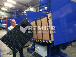 Distribution Center Freezer Spacer Removal System 1