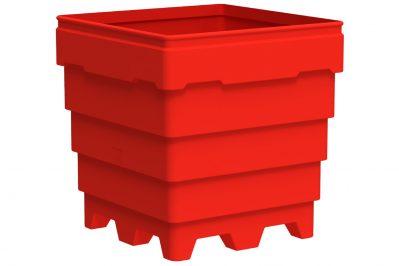 4-Way Hygienic Standard Duty Combo Bin 1