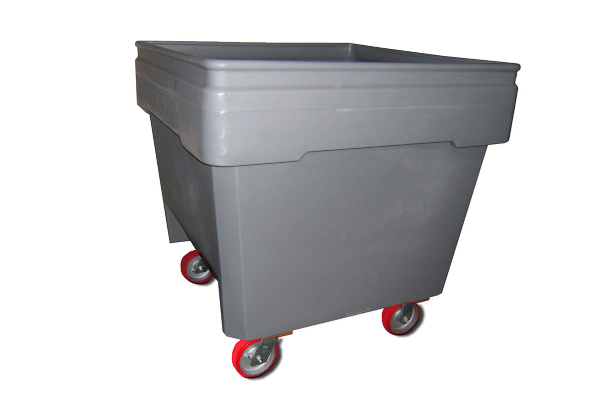 Solid Wall Mobile Combo Bin (Caster Kit) 1