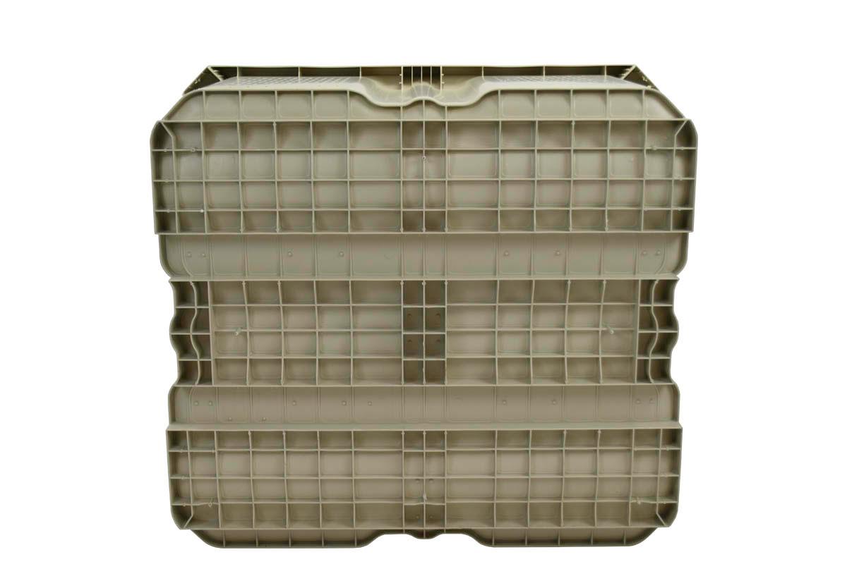 44 X 48 X 31 Solid Wall Hybrid Bulk Bin 8